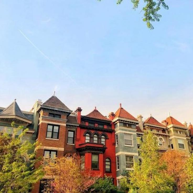 @starrygirl - Twilight view of rowhouses in Adams Morgan - Neighborhoods in Washington, DC