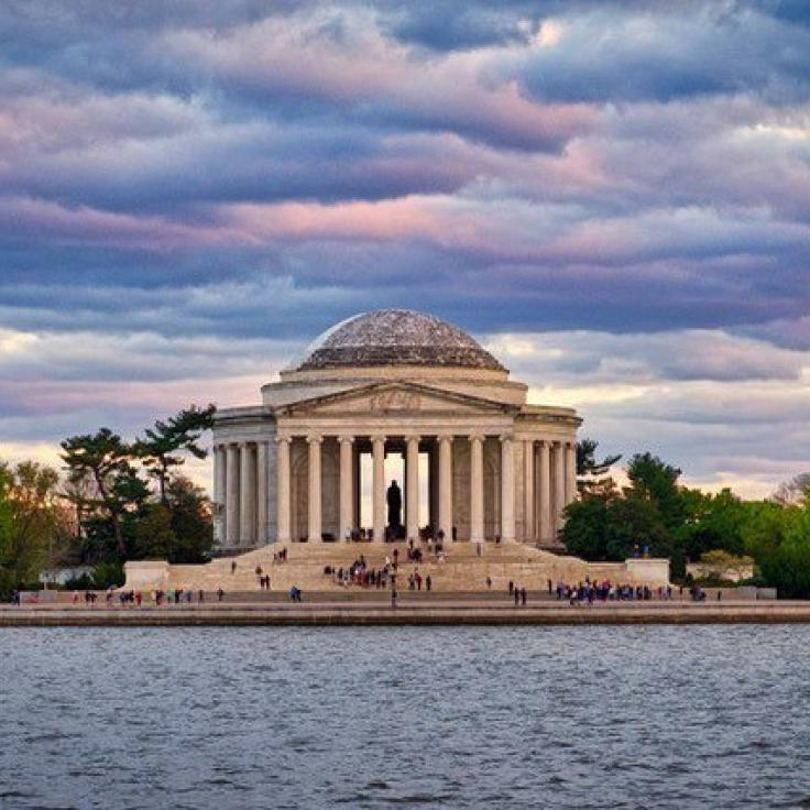 @stuartlitoff - Sunset at the Jefferson Memorial - Monuments and memorials in Washington, DC