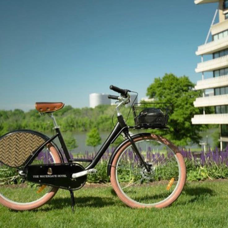 @watergatehotel - Bicicleta en The Watergate Hotel en Foggy Bottom - Hoteles en Washington, DC