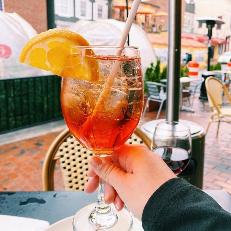 @buzzed_and_boujee - DC aperol spritz