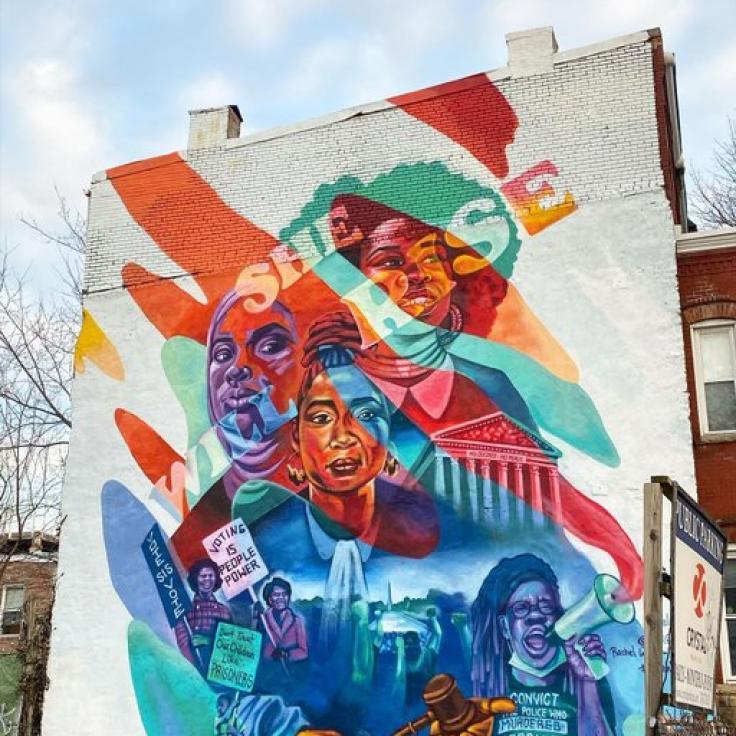 @flipflopcaravan - Sie wird steigen Wandbild von @wolfe_.pack