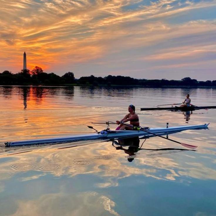 @grac_char - Skuller del río Potomac