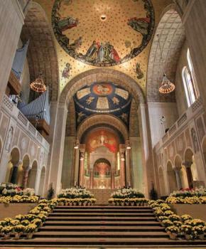 La Basílica del Santuario Nacional del Santuario de la Inmaculada Concepción - Washington, DC