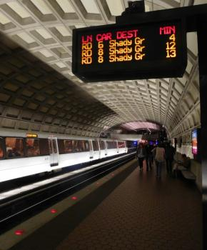 Washington, DC Metro Station - Public Transportation Options in DC
