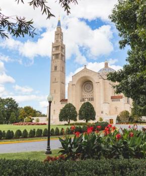 Basílica del Santuario Nacional de la Inmaculada Concepción en Brookland - Lugares de interés en Washington, DC