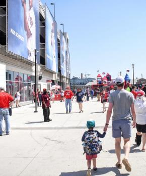 Familienfreundliche Aktivitäten in Washington, DC - Besuchen Sie ein Baseballspiel der Washington Nationals