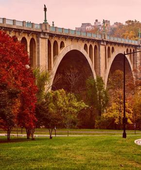 Rock Creek Park - Unter der Taft Bridge - Washington, DC