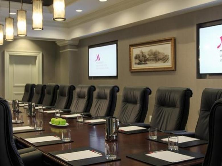 Small meeting space at the Washington Marriott Wardman Park in Washington, DC