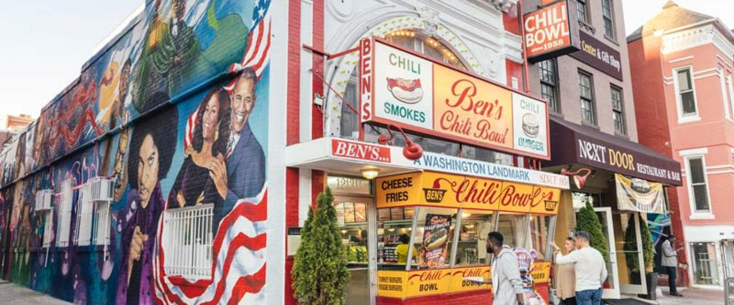 Ben's Chili Bowl on U Street - Where to get a half-smoke in Washington, DC