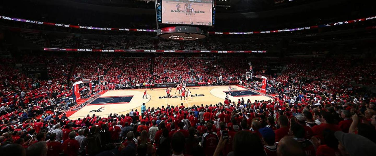 Washington Wizards Basketball Game at Capital One Arena - Professional Basketball in Washington, DC