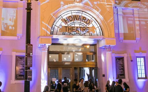 Historic Howard Theatre in Shaw - Famous Landmarks in Washington, DC