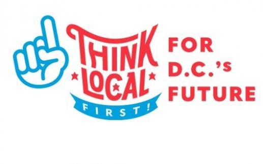Think Local First DC-Logo