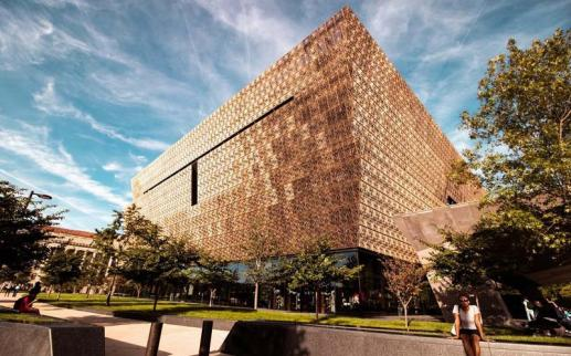 @aishaslens - Smithsonian National Museum of African American History and Culture on the National Mall in Washington, DC