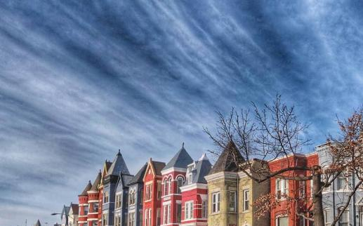 @attucksadams - Row homes in DC's Bloomingdale neighborhood - Things to see and do in Bloomingdale