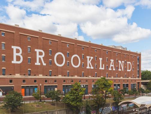 Brookland, außerhalb der Metrostation, Washington DC Washington