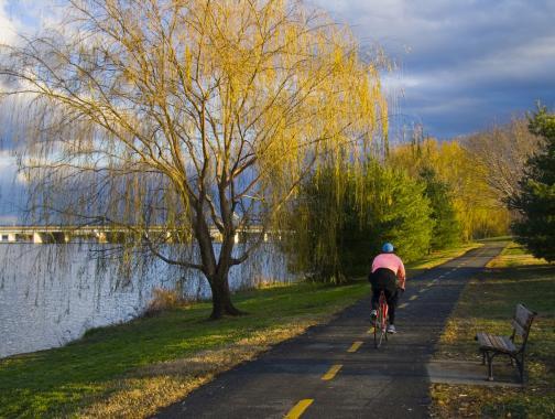 Sendero para bicicletas DC