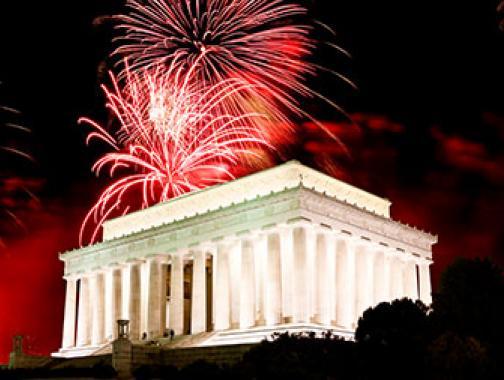 Cuatro de julio en Washington, DC