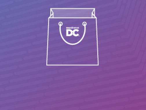 Bolsa de regalos de Destination DC