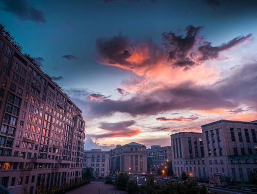 @chlo_eazy - Puesta de sol de DC