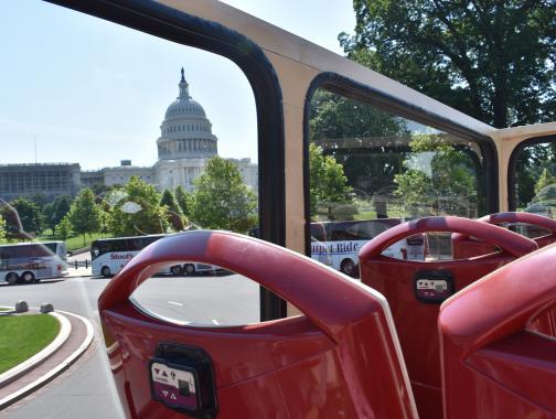 Big Bus con vista del Capitolio
