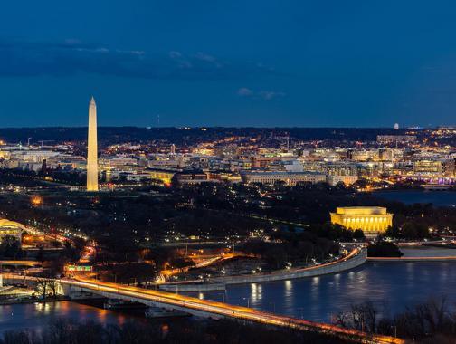 Skyline von Washington DC