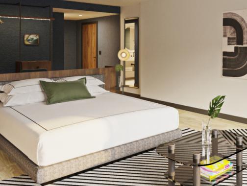 Kimpton Banneker Hotel, Gästezimmer