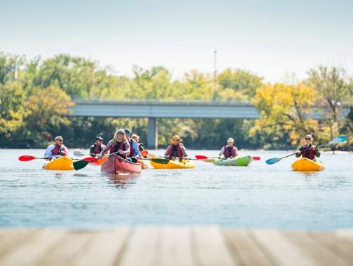 Kayaking on the Capitol Riverfront - Family Friendly and Waterfront Activities in Washington, DC