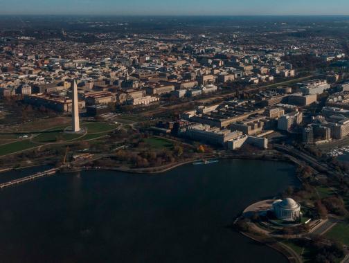 Washington, DC-Luftbild