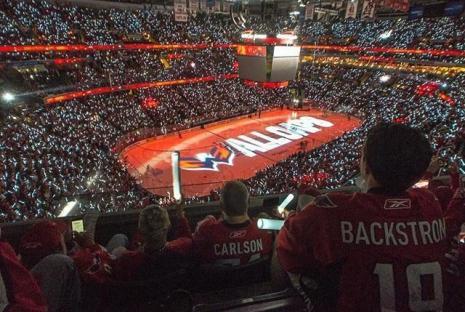@_jmbphotography - Washington Capitals Stanley Cup antes del partido en Capital One Arena - Washington Capitals hockey